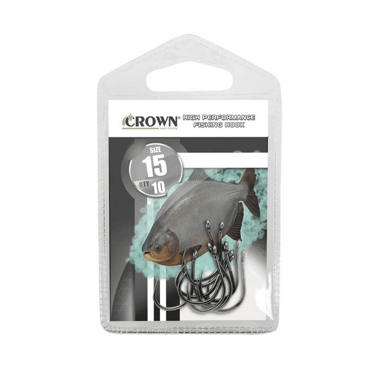 Anzol Crown Chinu Black  - Pró Pesca Shop