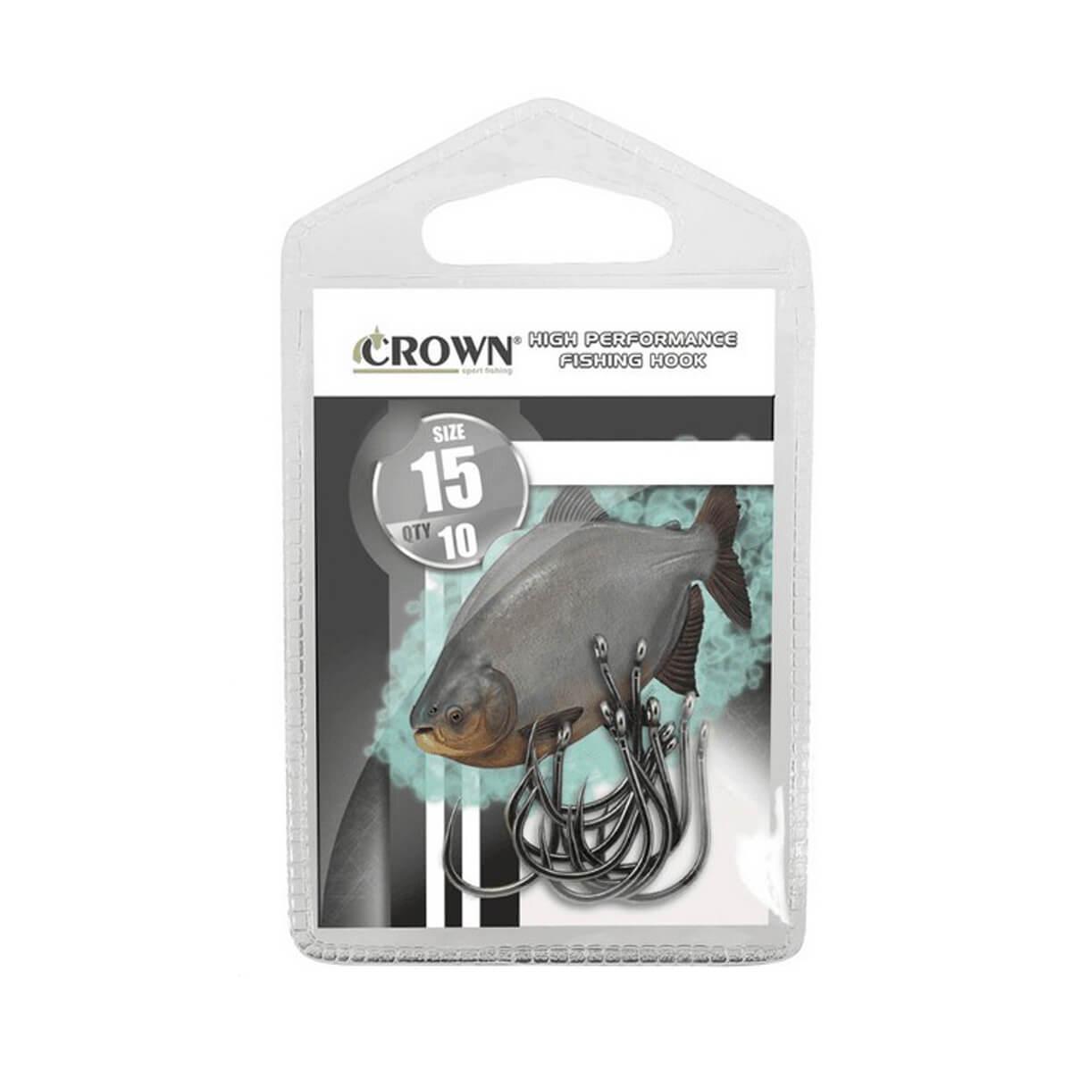 Anzol Crown Chinu Black
