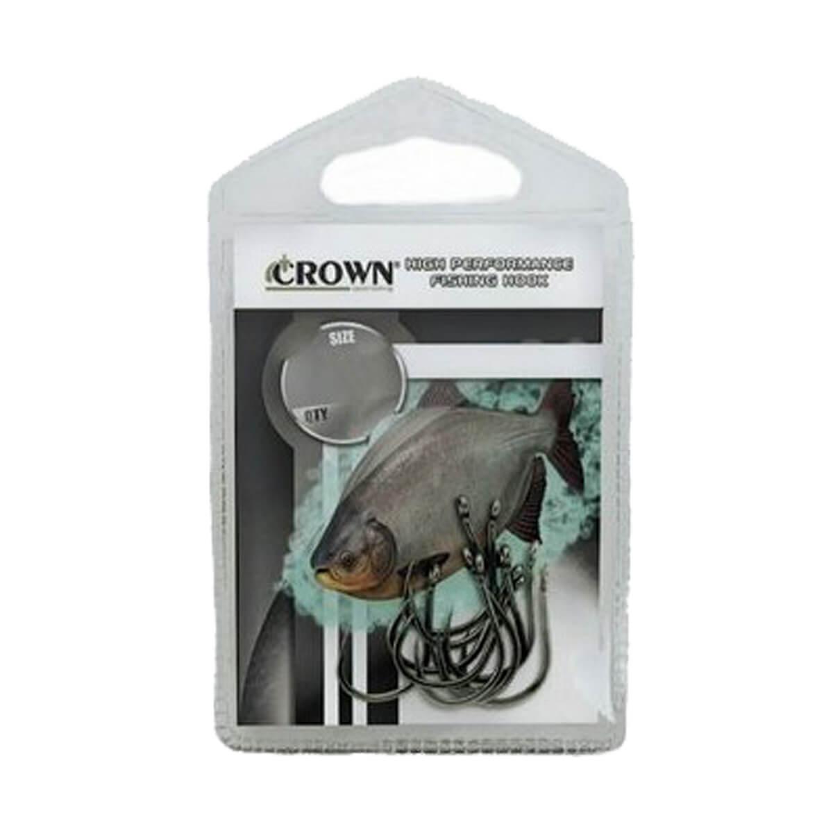 Anzol Crown Chinu Sure Black  - Pró Pesca Shop