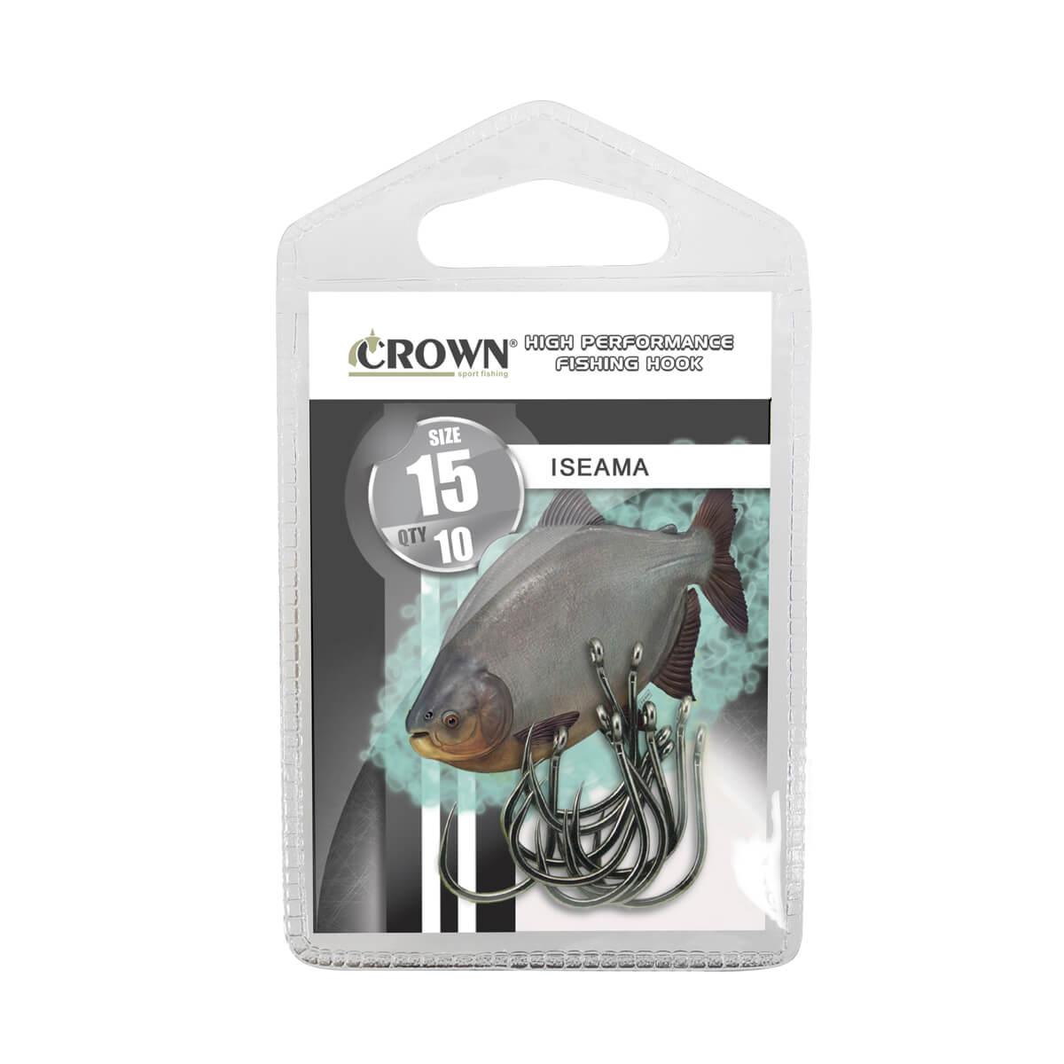 Anzol Crown Iseama Black  - Pró Pesca Shop