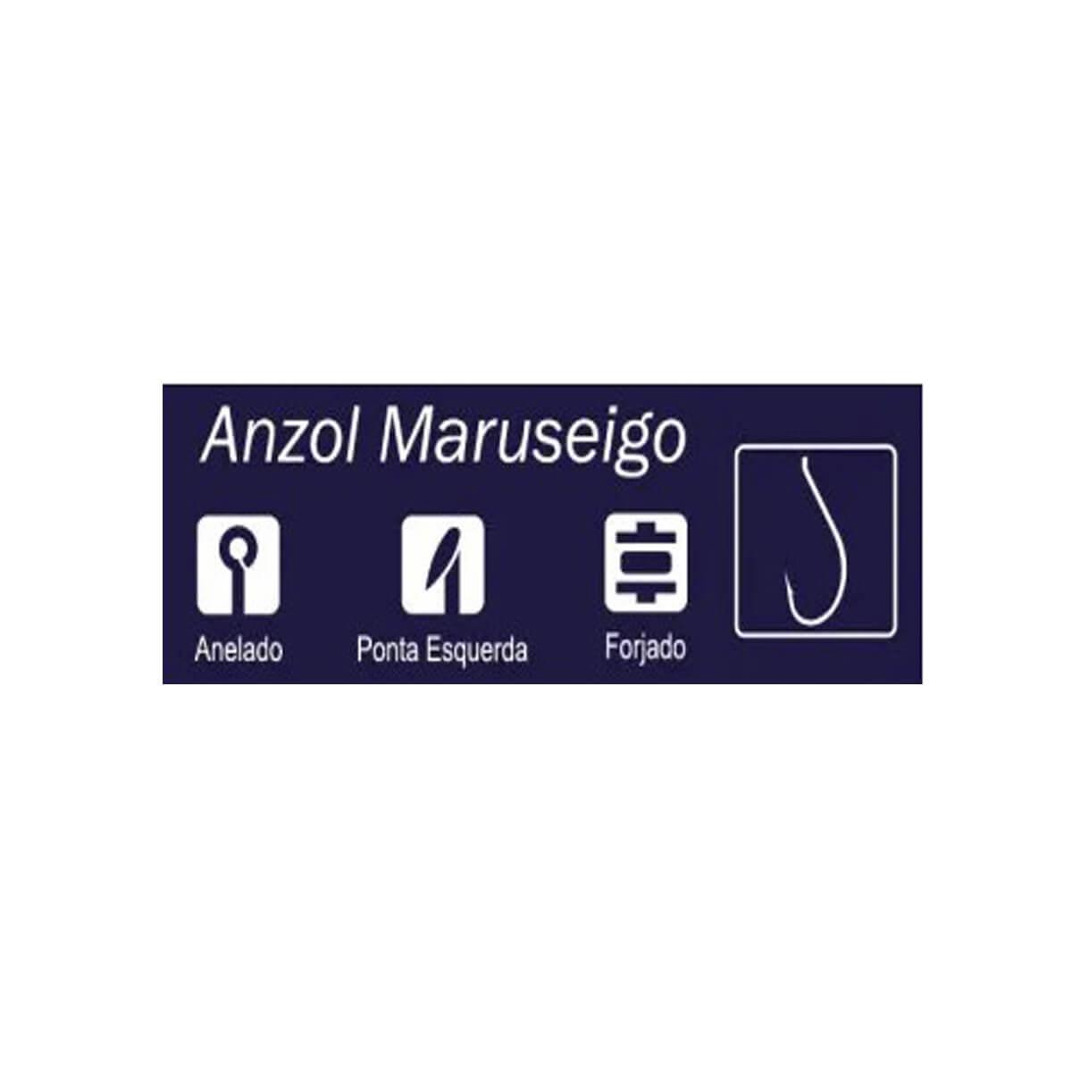 Anzol Crown Maruseigo Black  - Pró Pesca Shop