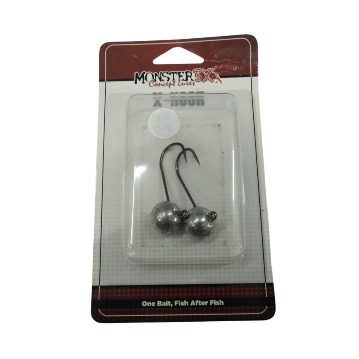 Anzol Jig Head Monster X-Hook 13g  - Pró Pesca Shop