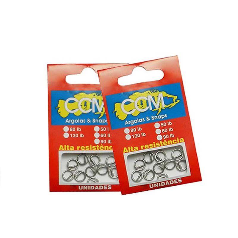 Argola CCM 80LBS (Com trava)  - Pró Pesca Shop