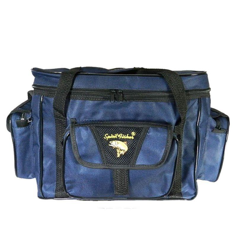 Bolsa de Apetrecho G Combat Nylon 600 Azul  - Pró Pesca Shop