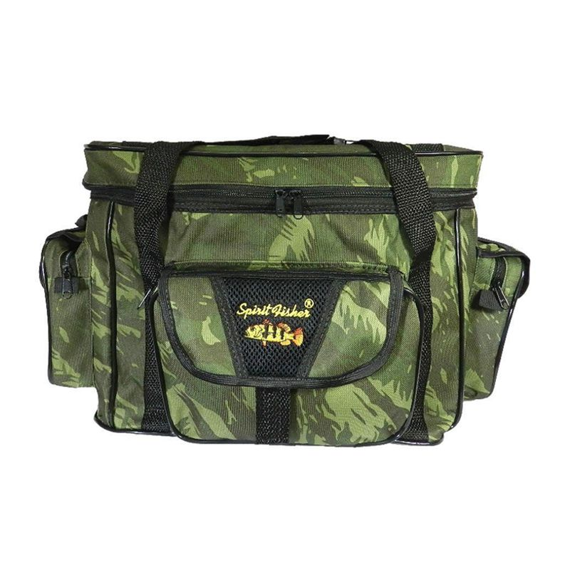 Bolsa De Apetrecho G Combat Nylon 600 Camuflada  - Pró Pesca Shop