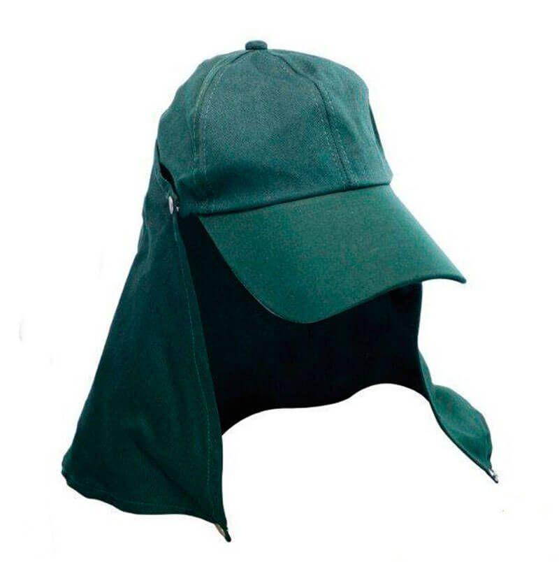 Boné Jogá C/ Proteção Destacável (Verde)  - Pró Pesca Shop