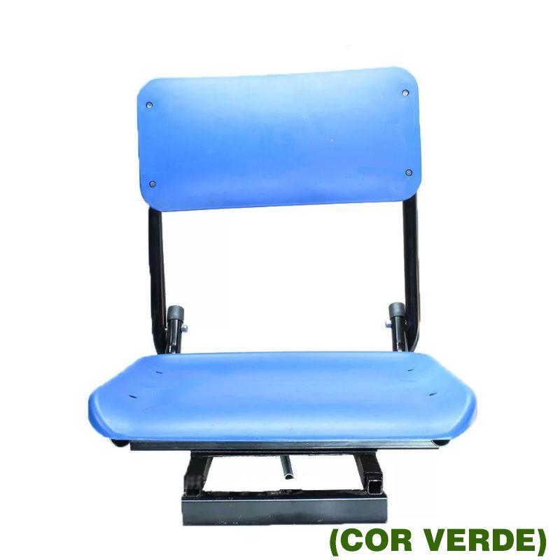Cadeira P/ Barco Confort Action X Verde  - Pró Pesca Shop