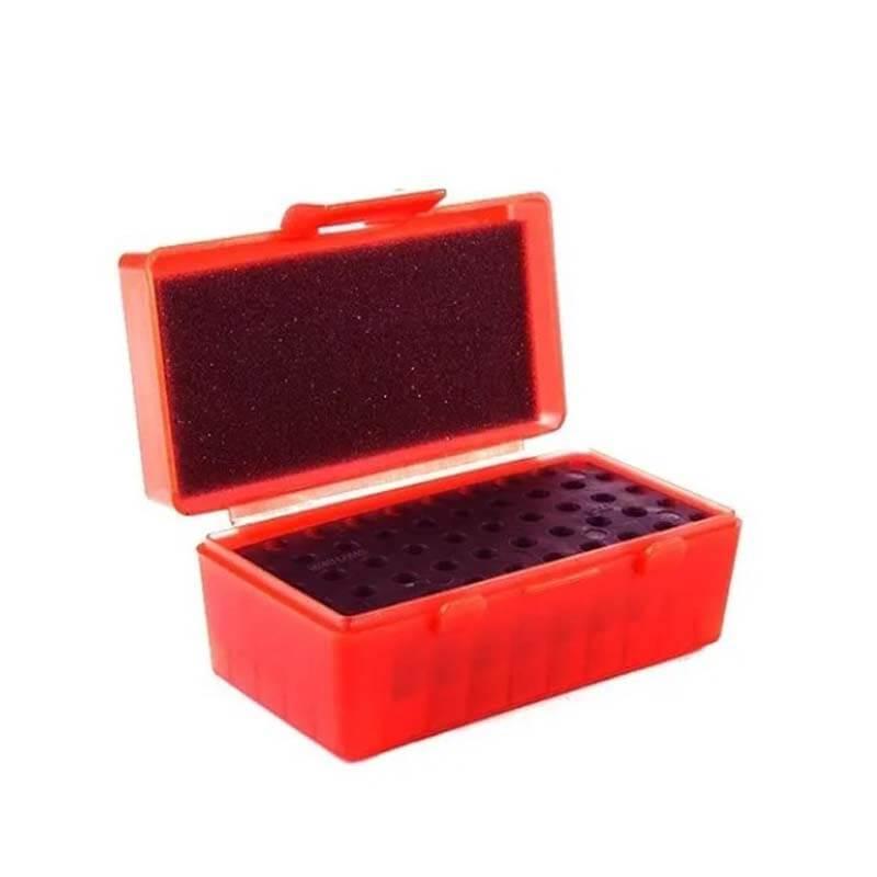 Caixa p/ Munição Calibre 38/357/22 50 Cartuchos Shotgun  - Pró Pesca Shop