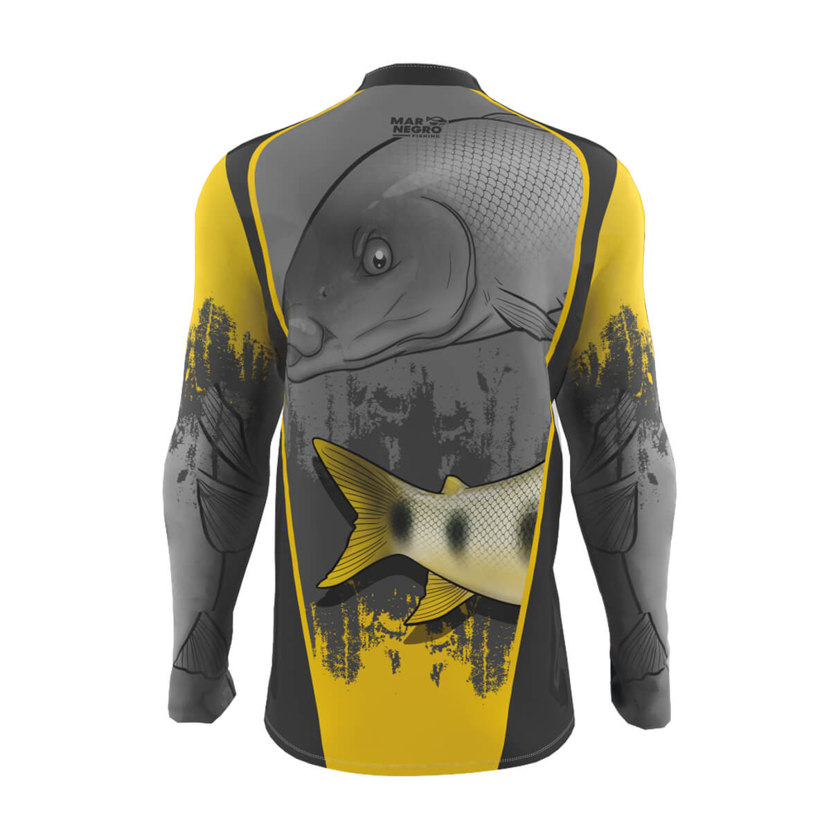 Camiseta de Pesca Mar Negro 2021 Piapara  - Pró Pesca Shop