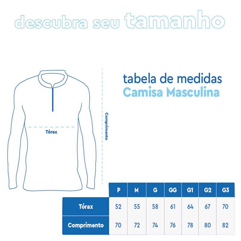Camiseta de Pesca Mar Negro 2021 Tucunaré Açu  - Pró Pesca Shop