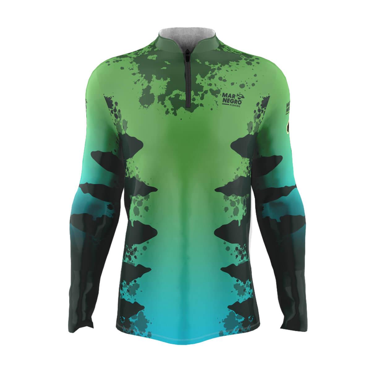 Camiseta de Pesca Mar Negro 2021 Zig Zara  - Pró Pesca Shop