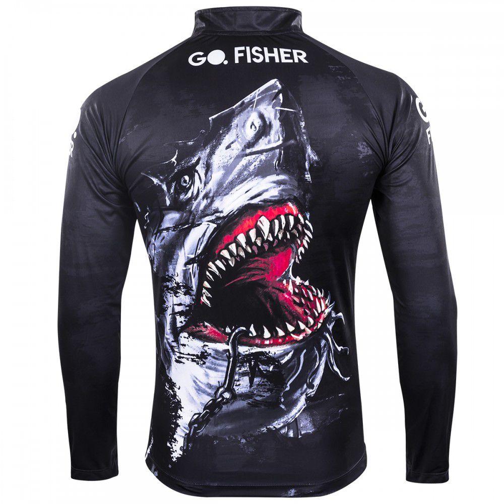 Camiseta Go Fisher Action 05 Tubarao