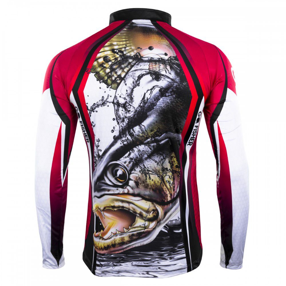Camiseta Go Fisher Action 06 Traíra  - Pró Pesca Shop