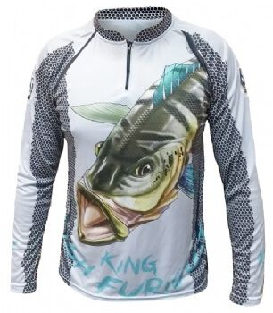 Camiseta King Fish KFF07 Tucunaré