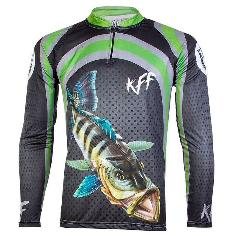 CAMISETA KING FISH KFF10 TUCUNARE