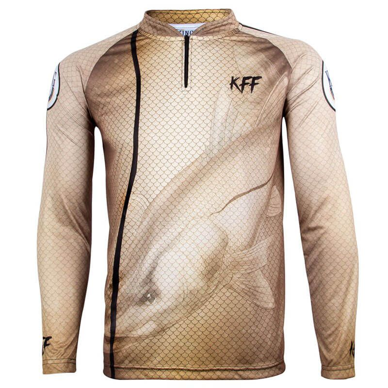 CAMISETA KING FISH KFF29 ROBALO
