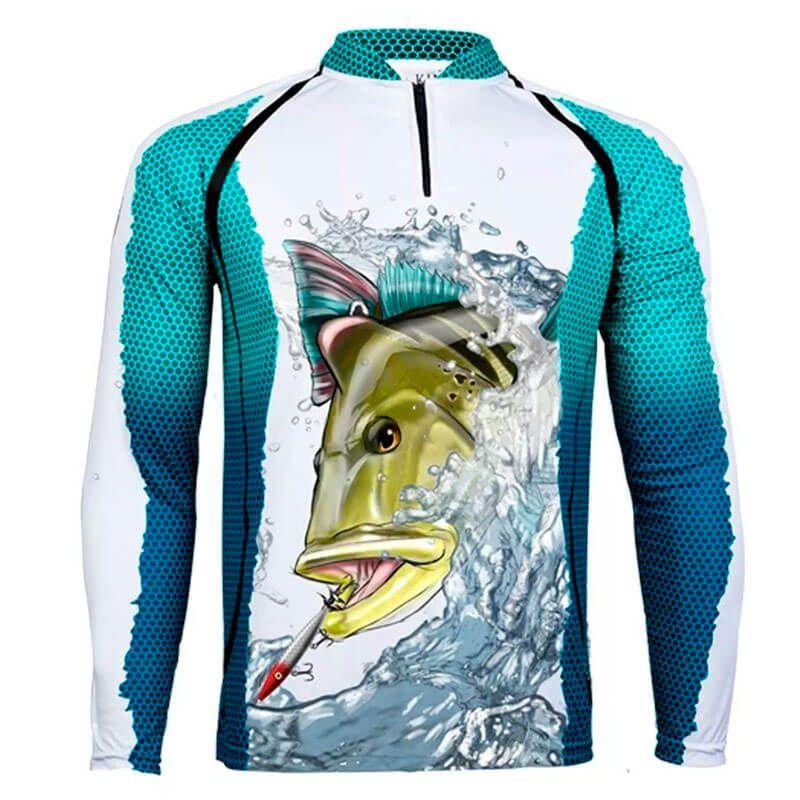 Camiseta King Fish KFF57 Tucunaré