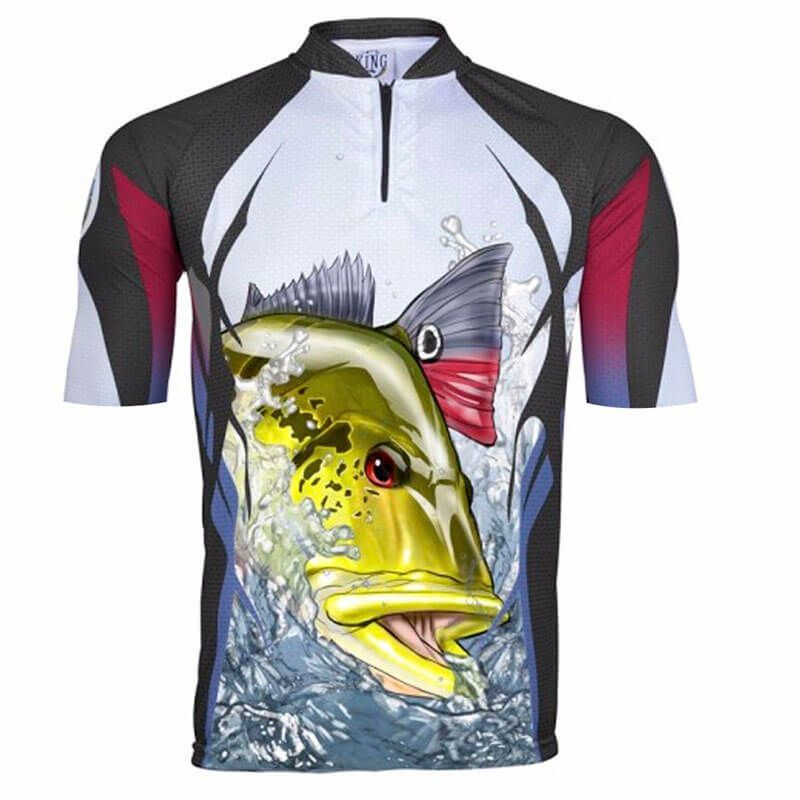 CAMISETA KING FISH KFF58 TUCUNARE