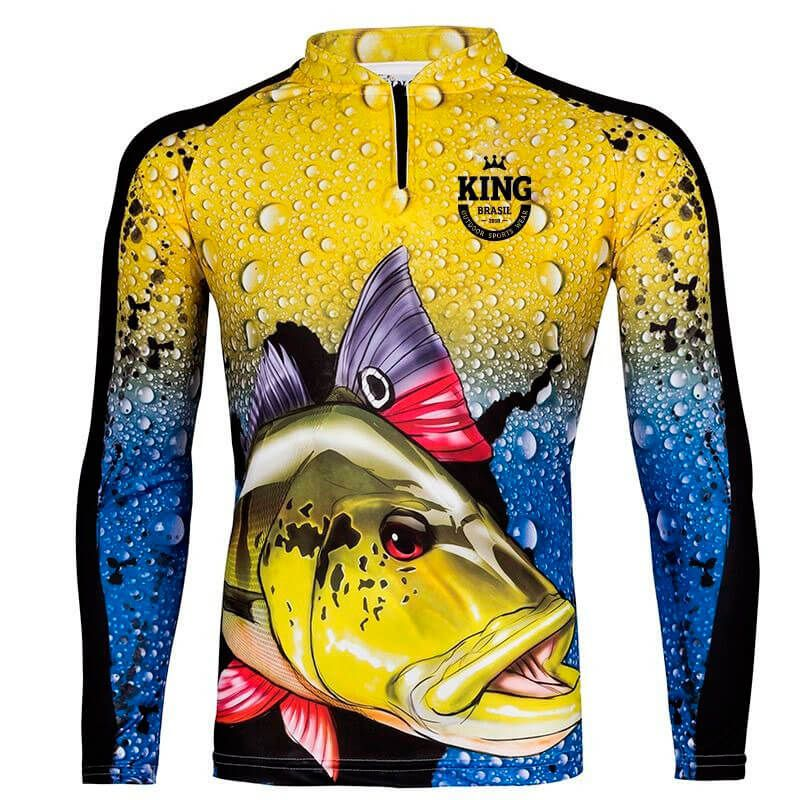 CAMISETA KING FISH KFF60 TUCUNARE