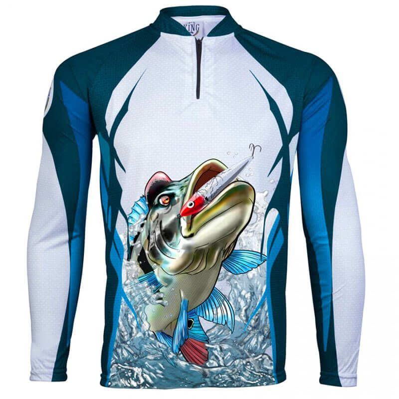 CAMISETA KING FISH KFF66 TUCUNARE