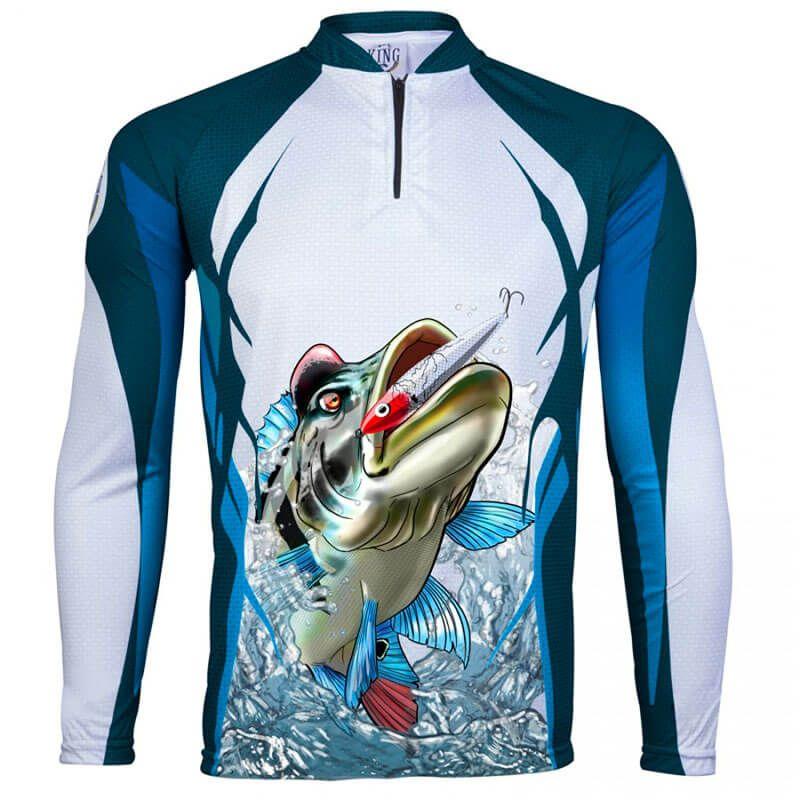 Camiseta King Fish KFF66 Tucunaré