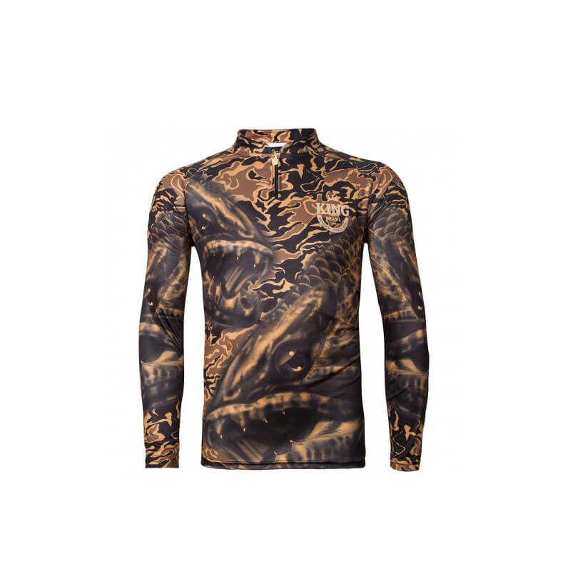 Camiseta King Fish VK04 Traira