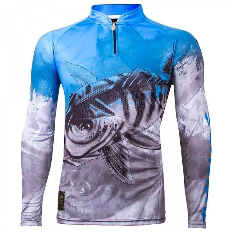 Camiseta King Fish VK06 Tucunaré