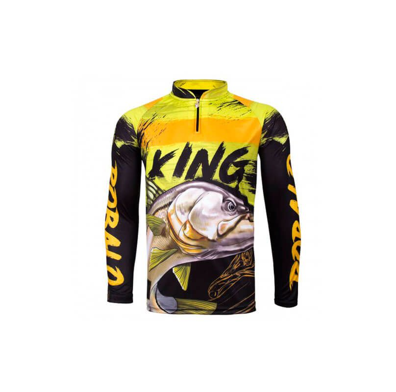 CAMISETA KING FISH VK13 ROBALO