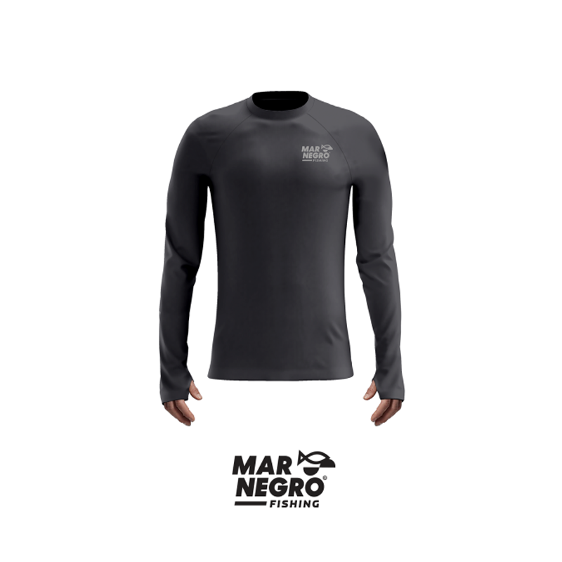 Camiseta Mar Negro 2020 Gola Careca c/ Luva Chumbo  - Pró Pesca Shop