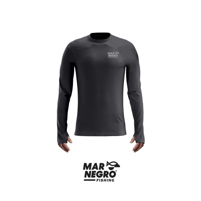 Camiseta Mar Negro 2020 Gola Careca c/ Luva Chumbo