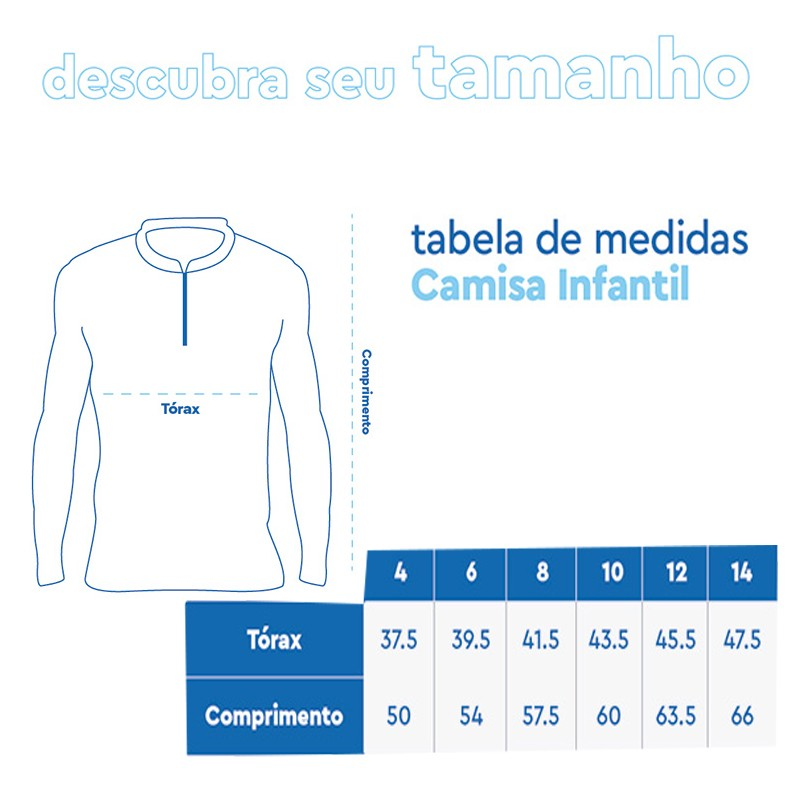 Camiseta Mar Negro 2020 Infantil Tucunaré Paca  - Pró Pesca Shop