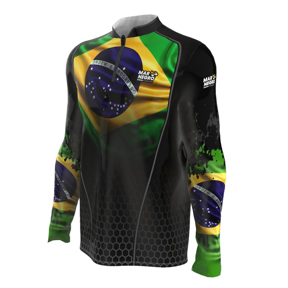 Camiseta Mar Negro 2021 Brasil  - Pró Pesca Shop
