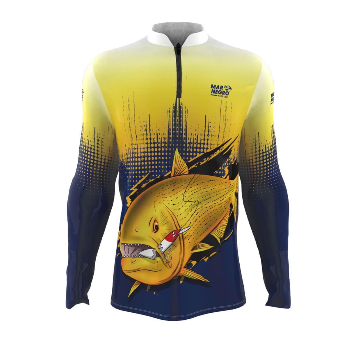 Camiseta Mar Negro 2021 Dourado  - Pró Pesca Shop