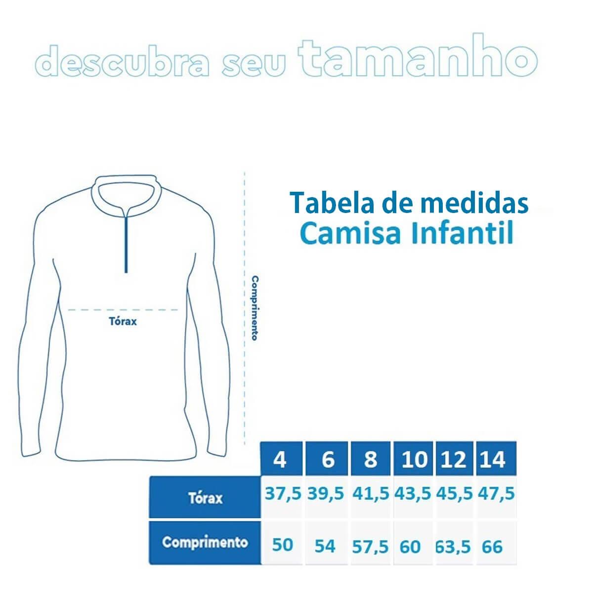 Camiseta Mar Negro 2021 Infantil Super Pescador  - Pró Pesca Shop
