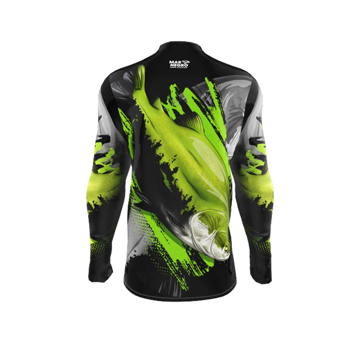Camiseta Mar Negro 2021 Infantil Tambaqui  - Pró Pesca Shop