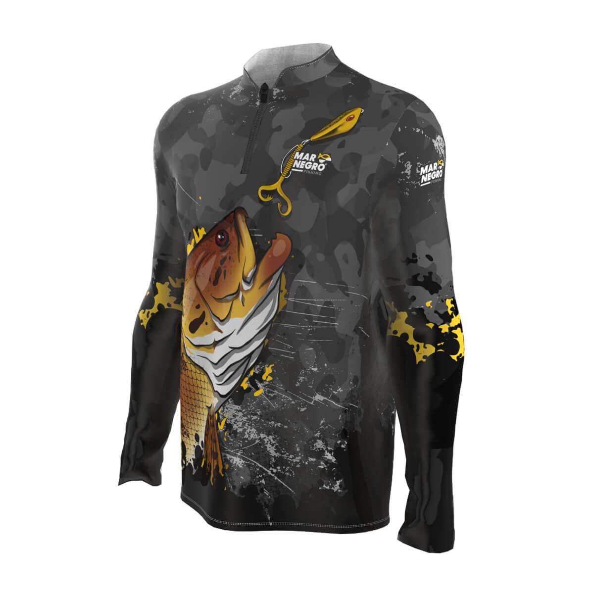 Camiseta Mar Negro 2021 Traira  - Pró Pesca Shop