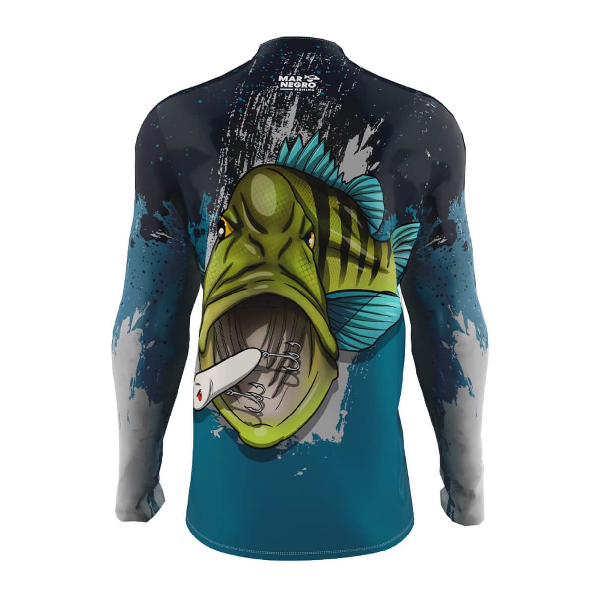 Camiseta Mar Negro 2021 Tucunaré Azul  - Pró Pesca Shop