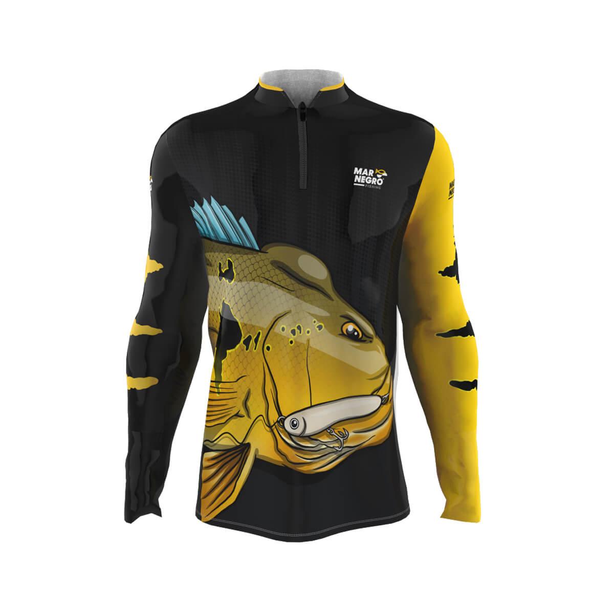 Camiseta Mar Negro 2021 Tucunaré Pinima  - Pró Pesca Shop