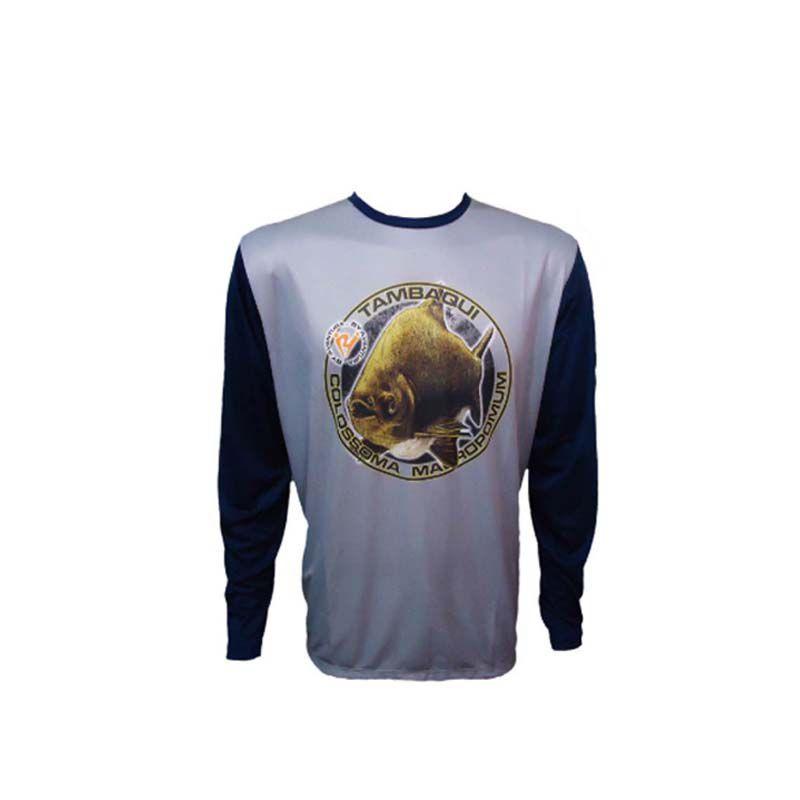 Camiseta de Pesca Manga Longa Tambaqui Gg1