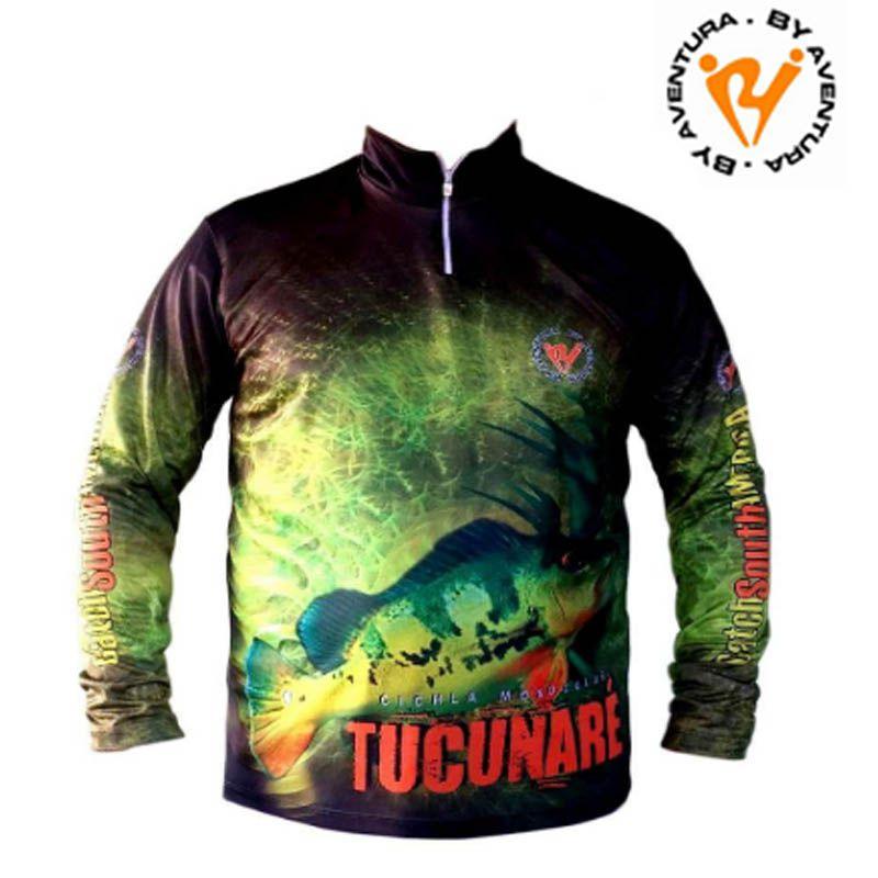 Camiseta Ml Tucunare (1700) Gg1