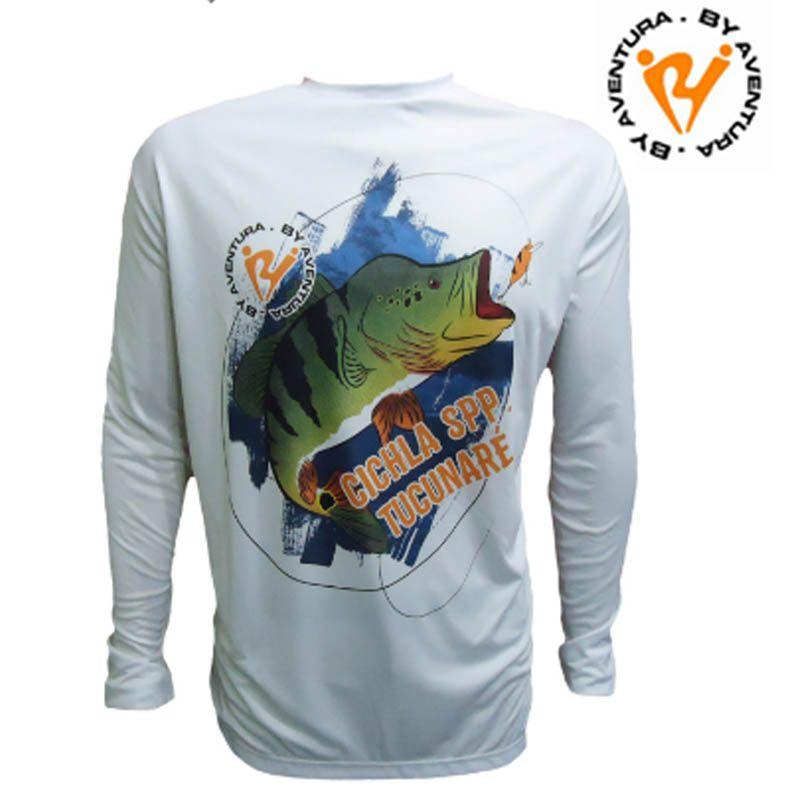Camiseta Ml Tucunare (1715) GG1  - Pró Pesca Shop