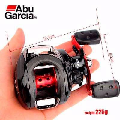 Carretilha Abu Garcia Black Max Bmax3-L (Esquerda)  - Pró Pesca Shop