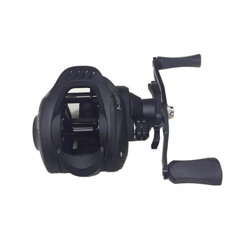 Carretilha Albatroz M21 Slim Preta (Direita)  - Pró Pesca Shop