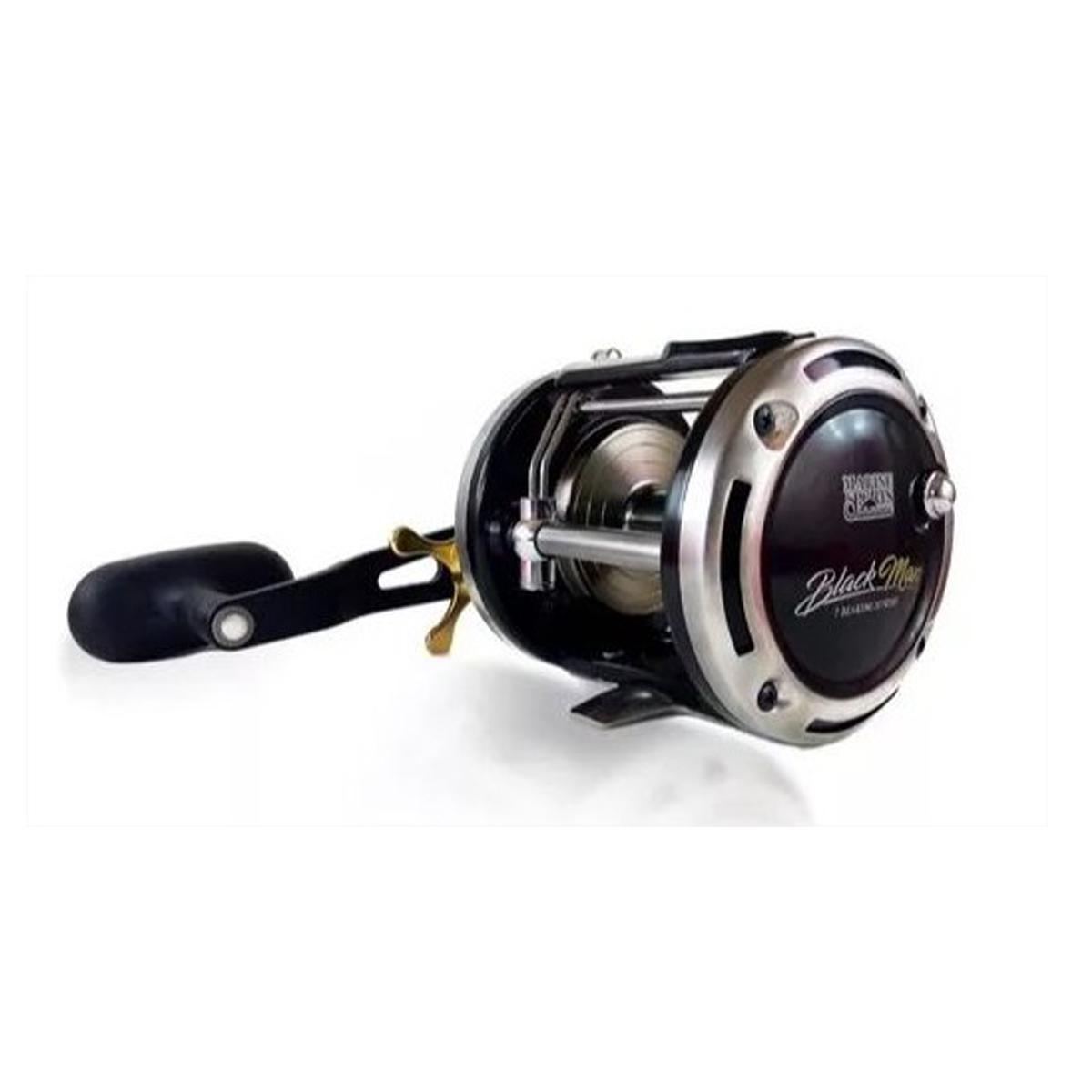 Carretilha Marine Sports Black Max 20 (Direita)  - Pró Pesca Shop