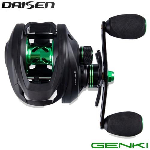 Carretilha Daisen Genki GE8 Lh (Esquerda)  - Pró Pesca Shop
