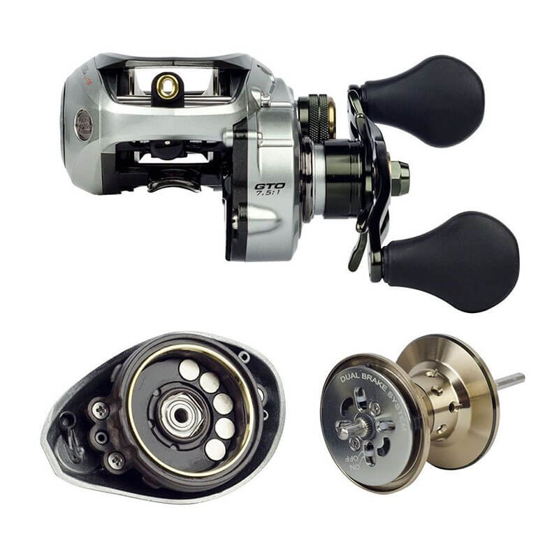 Carretilha Marine Sports Brisa Lite 11000 (Esquerda)  - Pró Pesca Shop