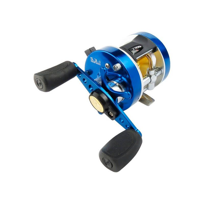 Carretilha Marine Sports Caster Plus 200 (Esquerda)