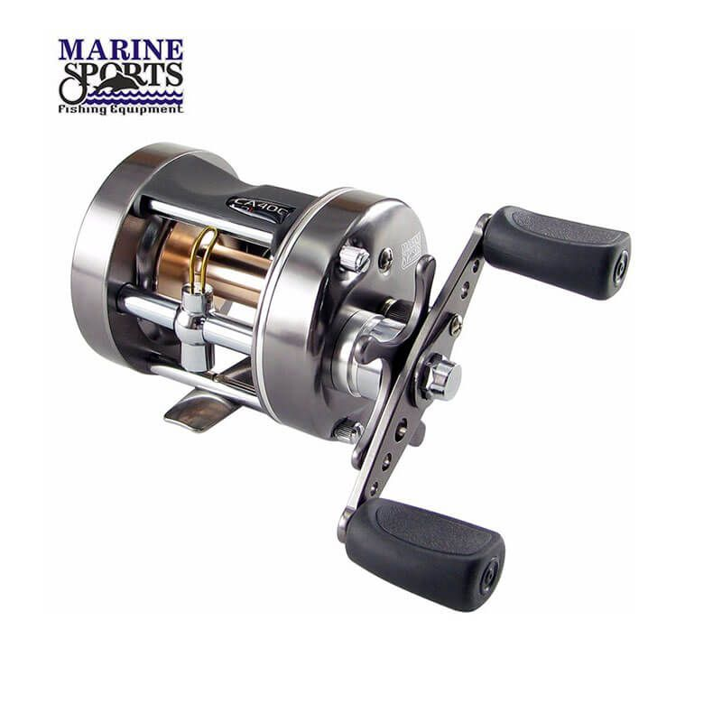 Carretilha Marine Sports Caster Plus 400 (Direita)  - Pró Pesca Shop