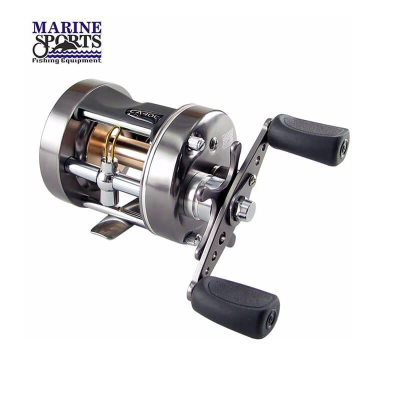 Carretilha Marine Sports Caster Plus 400 (Esquerda)