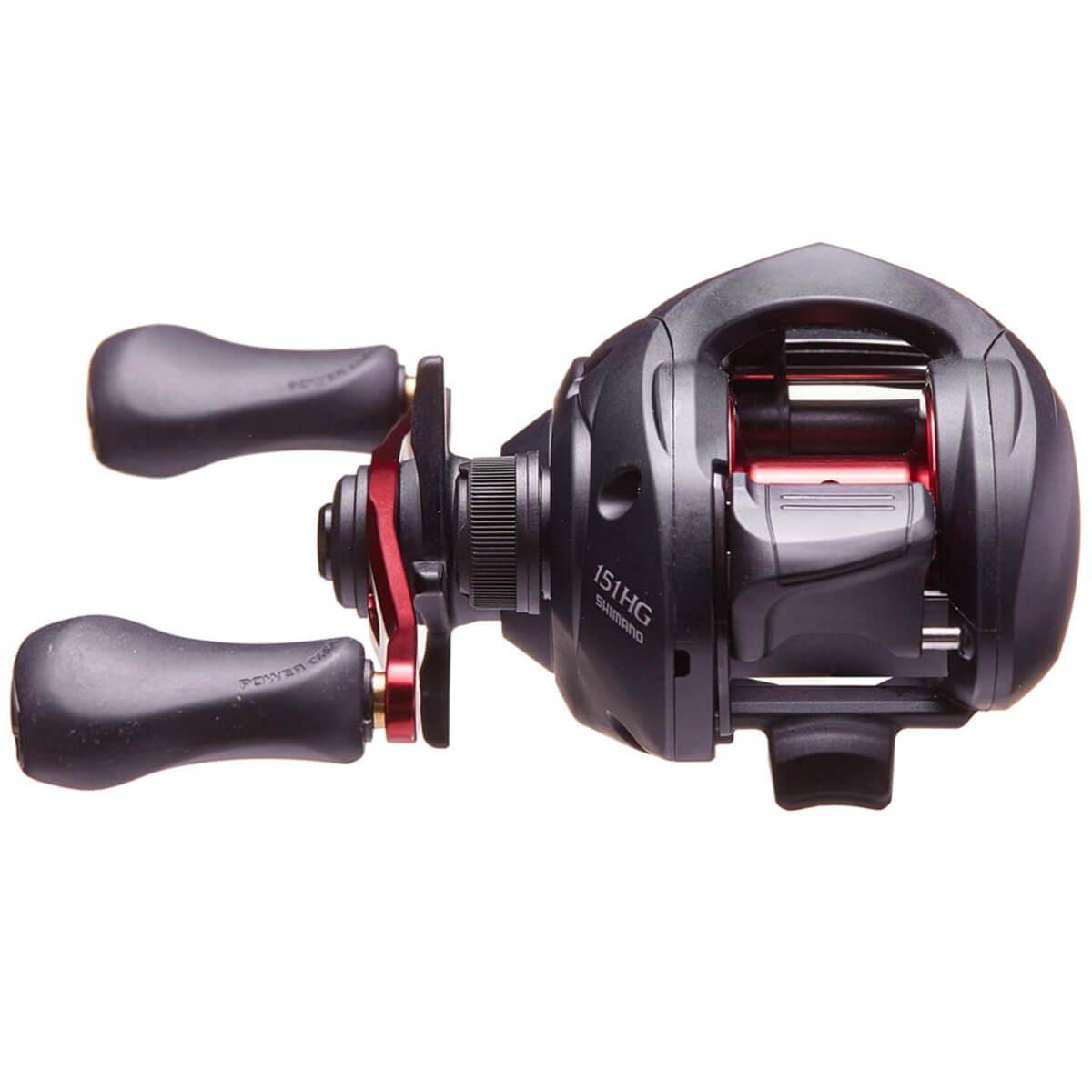 Carretilha Shimano Caius 151 HGB (Esquerda)  - Pró Pesca Shop